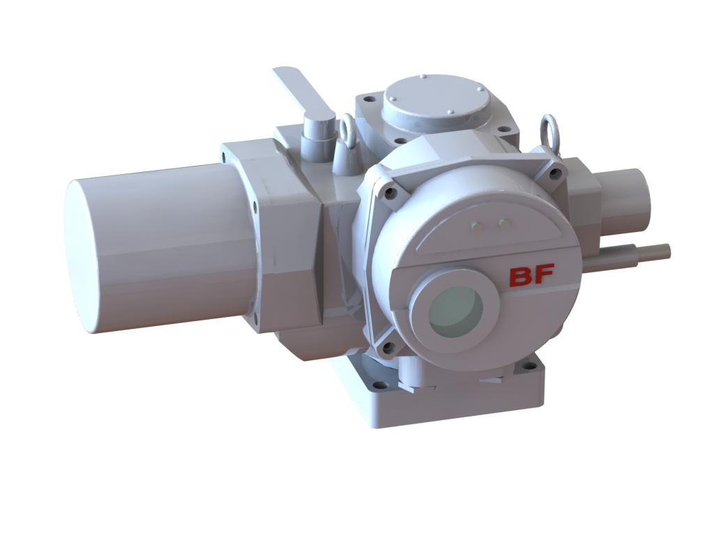 Электропривод с червячным редуктором исполнение К5-41.60