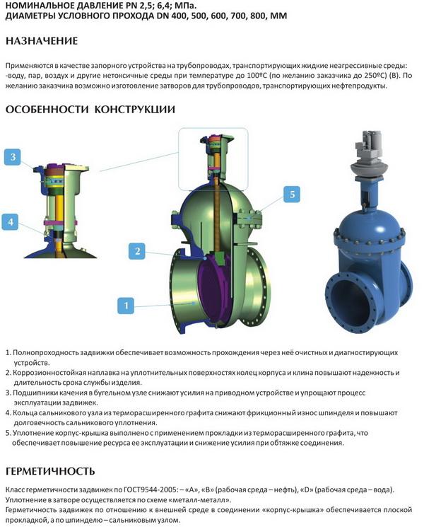 Каталог запорной и трубопроводной арматуры